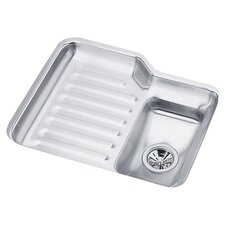 "Harmony 23.25"" x 19.5"" Lustertone Undermount Kitchen Sink"