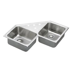 "Gourmet 33"" x 33"" Kitchen Sink"