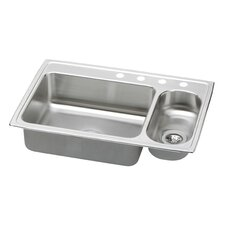 "Gourmet 33"" x 22"" Pacemaker Kitchen Sink"