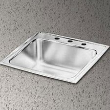 "<strong>Elkay</strong> Lustertone 31"" x 22"" x 10.13"" Gourmet Extra Deep Single Kitchen Sink"
