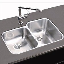 "Elumina 31.25"" x 20.5"" Undermount Double Kitchen Sink"