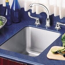 "Lustertone 15"" x 19.5"" x 10""  Undermount Kitchen Sink"