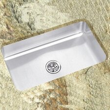 "<strong>Elkay</strong> 29.5"" x 17.5"" x 12"" Undermount Single Bowl Kitchen Sink"