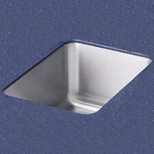 "<strong>Elkay</strong> 20.5"" x 16.5"" Undermount Single Bowl Kitchen Sink"