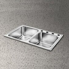"<strong>Elkay</strong> Pacemaker 33"" x 22"" Double Bowl Kitchen Sink"