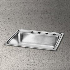 "Pacemaker 22"" x 22"" Single Bowl Kitchen Sink"
