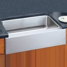 "33"" x 20.5"" Undermount Single Bowl Kitchen Sink with Apron"