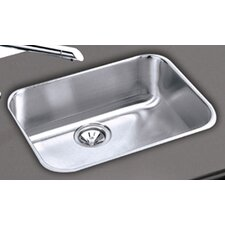 "Elumina Gourmet 23.5"" x 18.25"" 18 Gauge Single Bowl Kitchen Sink"