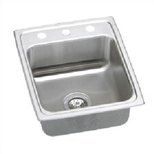 "Lustertone 17"" x 20"" Kitchen Sink"