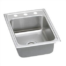 "Lustertone 17"" x 22"" Gourmet Kitchen Sink"