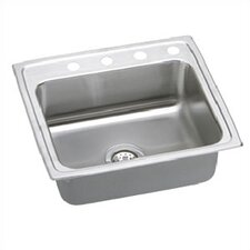 "Packemaker 25"" x 21.25"" Gourmet Single Bowl Kitchen Sink"