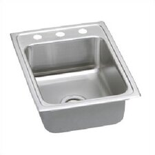 "Pacemaker 17"" x 22"" Gourmet Single Bowl Kitchen Sink"