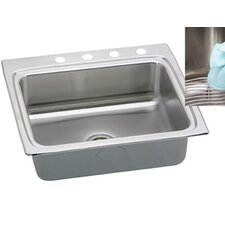 "Gourmet 25"" x 22"" x 10.13"" E-Dock Kitchen Sink"