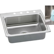 "Gourmet 25"" x 22"" E-Dock Kitchen Sink"