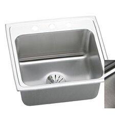 "Gourmet 22"" x 19.5"" Perfect Drain Top Mount Kitchen Sink"