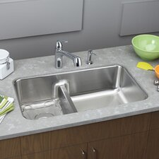 "Gourmet 32.06"" x 18.5"" x 9"" Undermount Kitchen Sink"