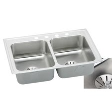 "Gourmet 33"" x 21.25"" Lustertone Kitchen Sink"