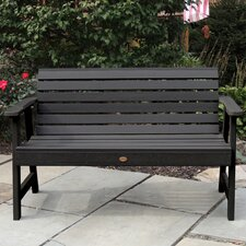 Weatherly Synthetic Wood Garden Bench