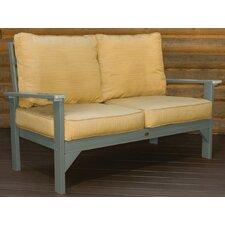 <strong>Highwood USA</strong> Pocono Deep Seating Loveseat with Cushions