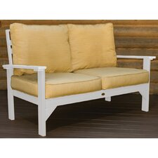 Pocono Deep Seating Loveseat with Cushions