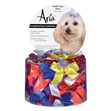 Multicolor Dog Bows (100 Pieces)