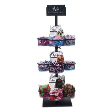 Dog Bow Canister Spinner Rack