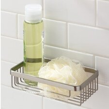 "<strong>Ginger</strong> Hotelier Deep 8"" Basket in Chrome"