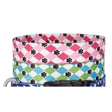 Pooch Argyle Pet Collar