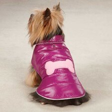 Snow Puff Dog Vest