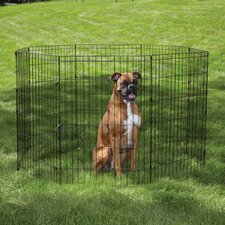 Easy Dog Exercise Pen in Black