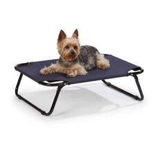 Portable Pet Cot in Navy