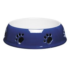<strong>Pet Studio</strong> Paw Print Dog Dish