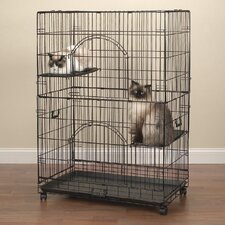 Easy Cat Cage in Black