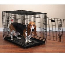 Everlasting Dual-Door Folding Dog Crate