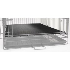 Dog Cage Floor Grate in Black