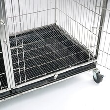 Modular Cage Floor Grate in Stainless Steel