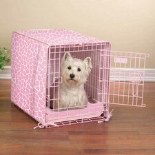 Sweet Safari Dog Crate Cover and Bed Set