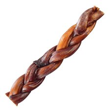 Braided Bully Stick Dog Treat