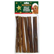 Holiday Bully Sticks Dog Treat