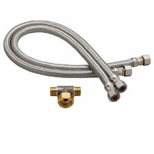Commander Faucet Flex Hoses Set (Set of 2)