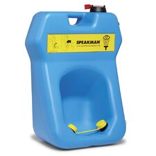Portable Eyewash with Optional Drench Hose and Gravity-Fed Eyewash Station