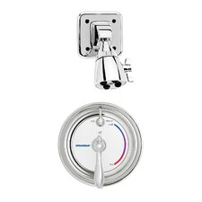 Sentinel Mark II Anti - Scald Balanced Pressure Thermostatic Shower Faucet with Adjustable Temperature Limit Stop and Integral Stops