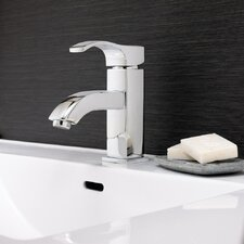 Martin Single Lever Deck Mount Bathroom Faucet with Pop-Up Drain
