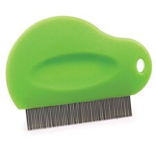 Flea Pet Comb Contoured Grip