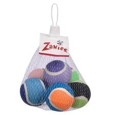<strong>Zanies</strong> Tennis Minis Dog Toy (Set of 6)