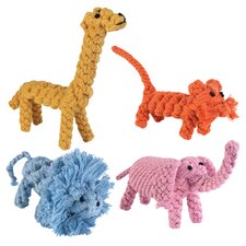 Rope Menagerie Dog Toy