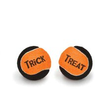 Trick or Treat Tennis Ball Canister Dog Toy (15 Pieces)
