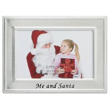 Me and Santa Picture Frame