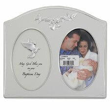 <strong>Lawrence Frames</strong> Baptism Day Picture Frame