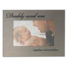 <strong>Lawrence Frames</strong> Daddy and Me Picture Frame